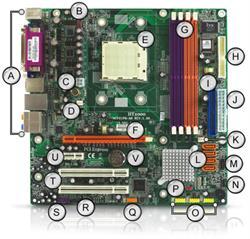 4006203R | Gateway GM5472 GM5474 Motherboard