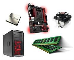 MSI B350M Gaming PRO AM4 | Amd Ryzen5 1600 16GB DDR4 Barebones Kit